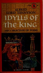 Cover of: Idylls of the King | Alfred, Lord Tennyson