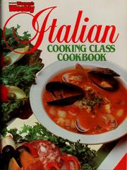 Cover of: Italian Cooking Class Cook Book. |