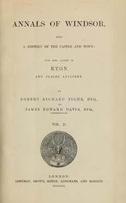Cover of: Annals of Windsor