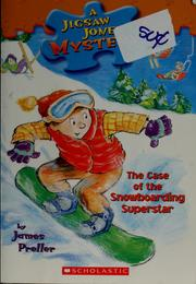 Cover of: The Case of the Snowboarding Superstar |