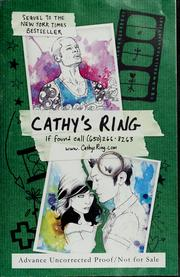 Cover of: Cathy's ring
