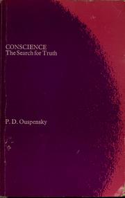 Cover of: Conscience