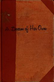 Cover of: A dream of her own | Nancy Titus