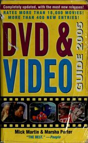 Cover of: DVD & video guide 2005