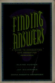 Cover of: Finding answers