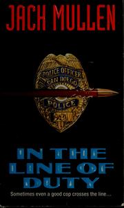 Cover of: In the line of duty
