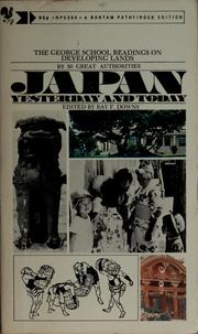 Cover of: Japan yesterday and today