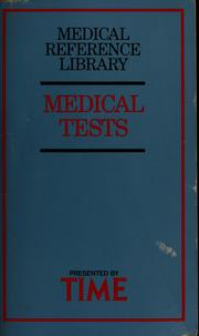 Cover of: Medical tests | Cathey Pinckney