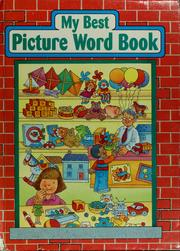 My Best Picture Word Book by Shereen Gertel Rutman