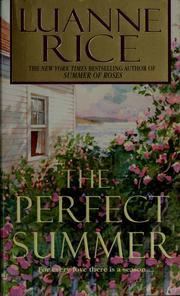 Cover of: The Perfect Summer