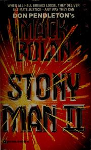 Cover of: Stony Man II | Copyright Paperback Collection (Library of Congress)