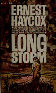 Cover of: Long storm