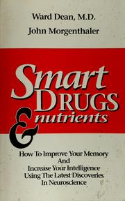 Cover of: Smart drugs and nutrients | Ward Dean