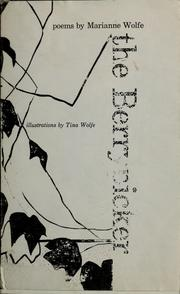 Cover of: The berrypicker; poems