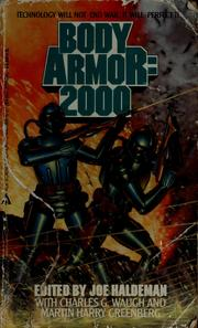 Cover of: Body armor: 2000