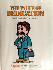 Cover of: The value of dedication