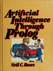 Artificial intelligence through Prolog by Neil C. Rowe