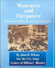 Cover of: Maneuver and Firepower by John B. Wilson