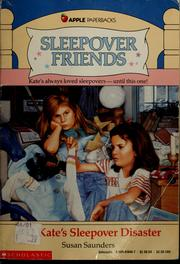 Cover of: Kate's sleepover disaster