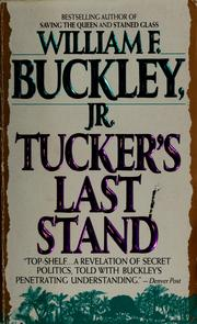 Cover of: Tucker's last stand