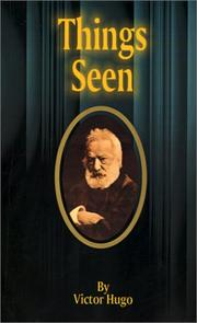 Cover of: Things seen