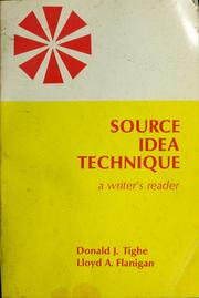 Cover of: Source idea technique