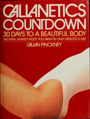 Cover of: Callanetics countdown | Callan Pinckney