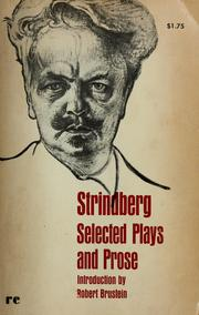 Cover of: Selected plays and prose