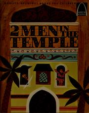 Cover of: 2 men in the temple | Joann Scheck