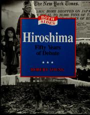 Cover of: Hiroshima