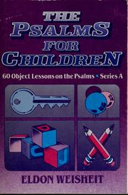 Cover of: The Psalms for children