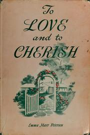 Cover of: To love and to cherish | Emma Marr Petersen