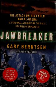 Cover of: Jawbreaker | Gary Berntsen