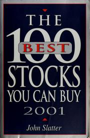 Cover of: 100 best stocks you can buy