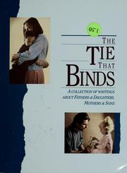 Cover of: The Tie That Binds | Sandra Martz