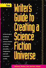 Cover of: The writer's guide to creating a science fiction universe