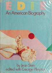 Cover of: Edie, an American biography | Stein, Jean.