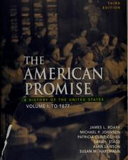 Cover of: The American promise