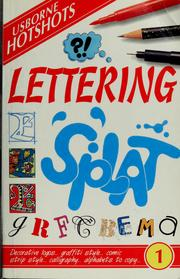 Cover of: Lettering | Lisa Miles