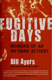 Cover of: Fugitive Days |