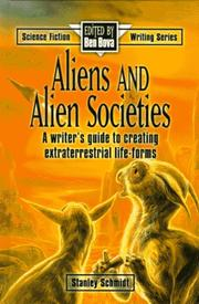 Cover of: Aliens and alien societies