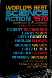 Cover of: World's best science fiction, 1970