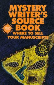 Cover of: Mystery Writer's Sourcebook |