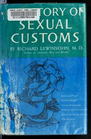 A history of sexual customs.