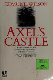 Cover of: Axels Castle