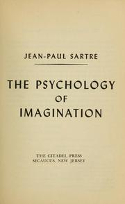 Cover of: The psychology of imagination