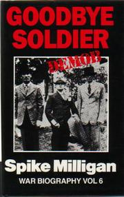 Cover of: Goodbye soldier