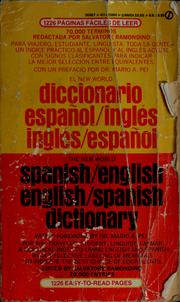 Cover of: The New World Spanish-English and English-Spanish dictionary