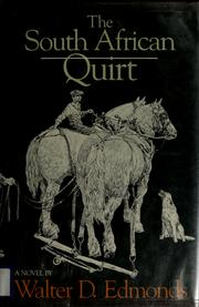 Cover of: The South African quirt