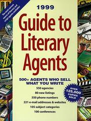 Cover of: 1999 Guide to Literary Agents | Donya Dickerson